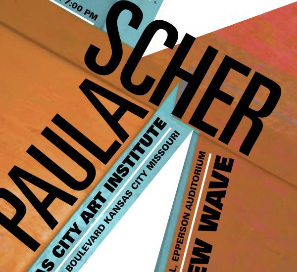 PAULA SCHER LECTURE